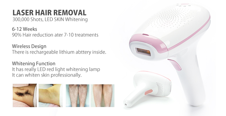 light hair removal IPL laser skin rejuvenation
