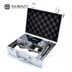 Permanent Makeup Derma Pen Digital Tattoo Integrated Machine facial skin rejuvenation Kits  Micro Tattoo Needles MTS PMU System (Suitcase-Style)