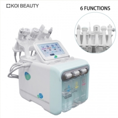 Multifunctional 6in1 H2O2 Water Hydrodermabrasion Facial Machine Mill Skin Oxygen Facial Skin Care Beauty Instrument